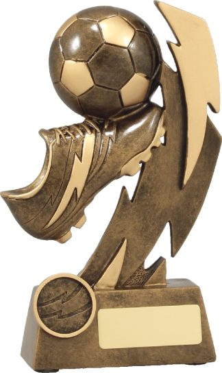 11638C Soccer trophy 180mm