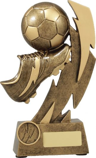 11638D Soccer trophy 205mm