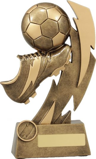 11638E Soccer trophy 230mm