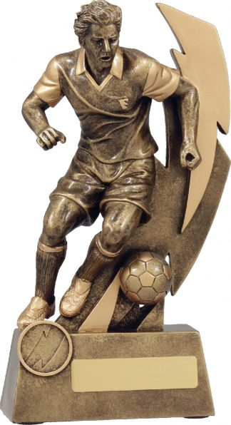 11680D Soccer Trophy 225mm New 2015