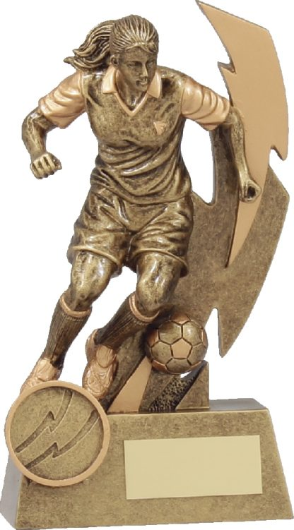 11681A Soccer Trophy 150mm New 2015