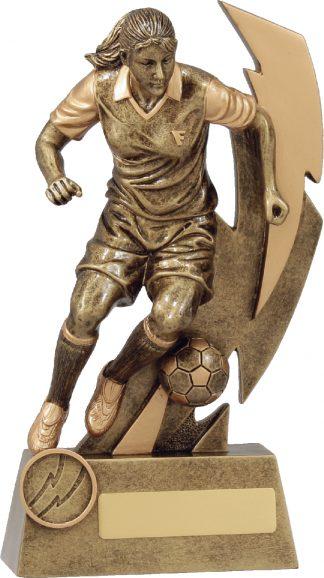 11681D Soccer Trophy 225mm New 2015