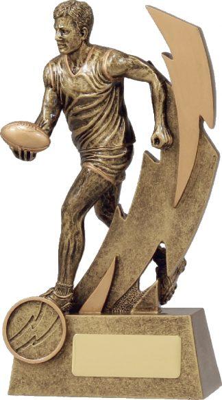 11688B Australian Rules (AFL) Trophy 180mm New 2015