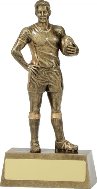 11713A Rugby trophy 160mm
