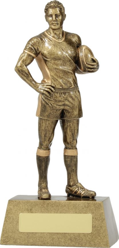 11713C Rugby trophy 230mm