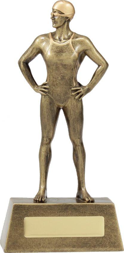 11721C Swimming trophy 215mm