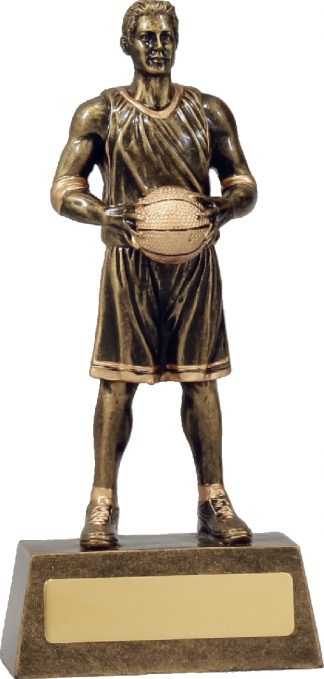 11760B Basketball trophy 190mm