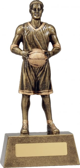 11760C Basketball trophy 225mm