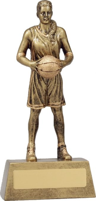 11761B Basketball trophy 190mm