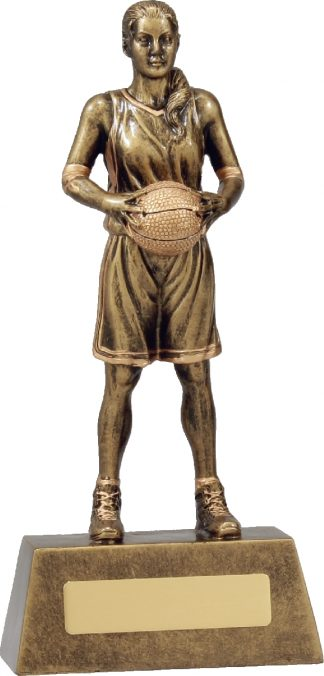 11761C Basketball trophy 225mm