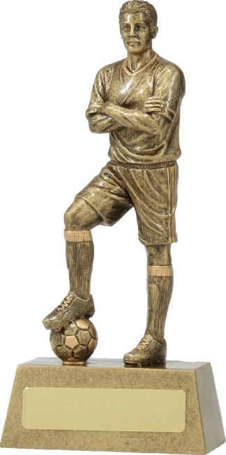 11780B Soccer trophy 185mm