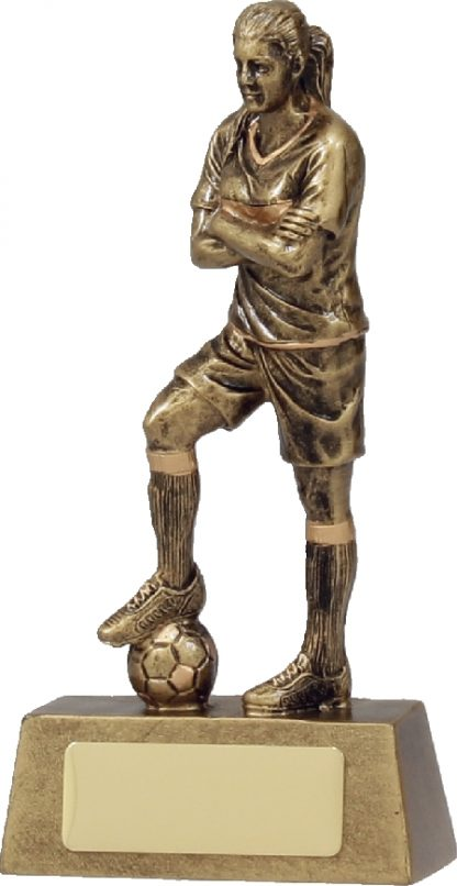 11781A Soccer trophy 160mm