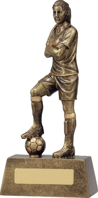 11781C Soccer trophy 225mm