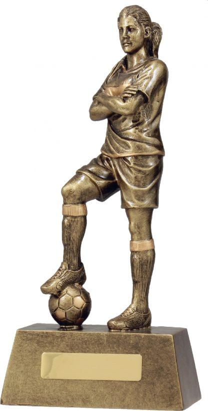 11781E Soccer trophy 270mm