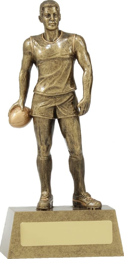 11788B Australian Rules (AFL) trophy 185mm
