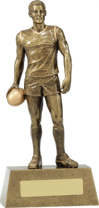 11788C Australian Rules (AFL) trophy 225mm