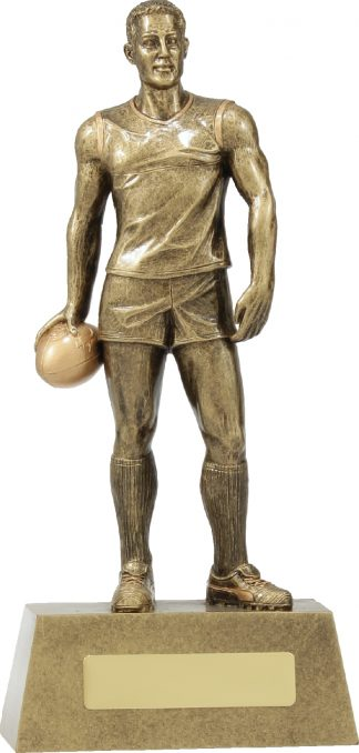11788D Australian Rules (AFL) trophy 240mm
