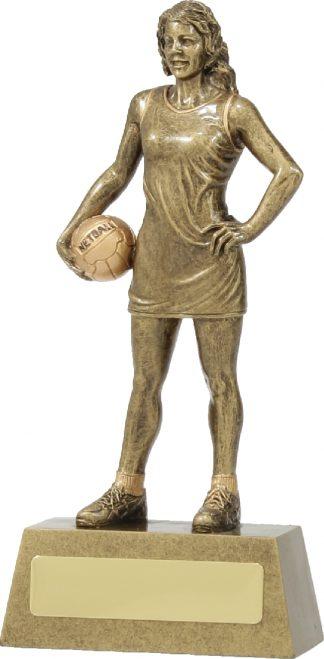 11791B Netball trophy 190mm