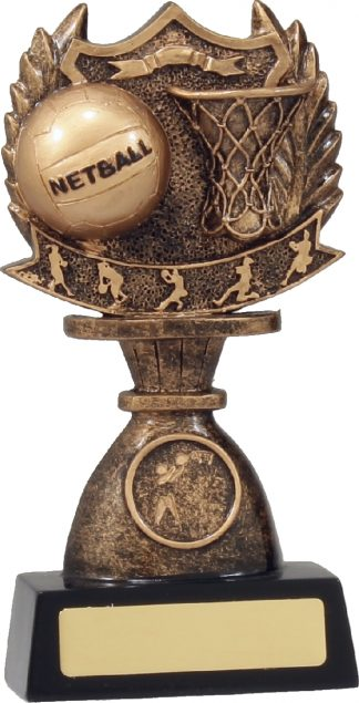 11937C Netball Trophy 180mm New 2015
