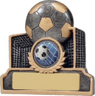 12038 Soccer trophy 95mm