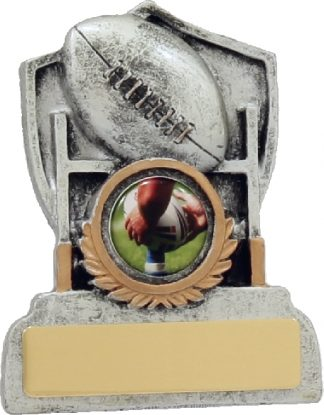12039 Rugby trophy 100mm