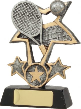 12418M Tennis trophy 135mm
