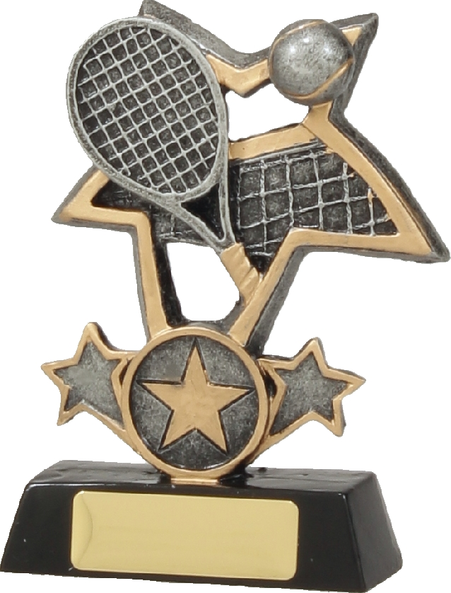 12418S Tennis trophy 115mm