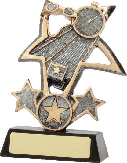 12430M Swimming trophy 130mm