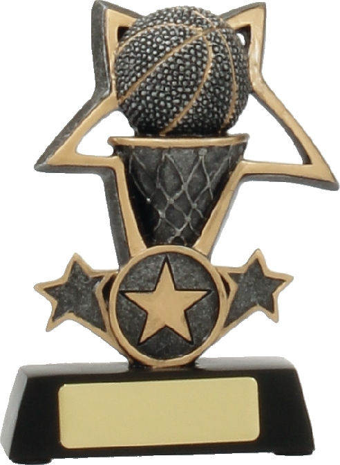 12434S Basketball trophy 115mm