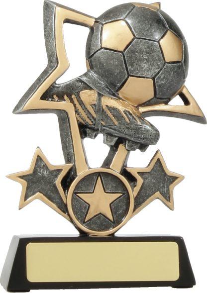 12438M Soccer trophy 135mm