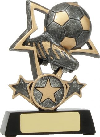 12438S Soccer trophy 115mm