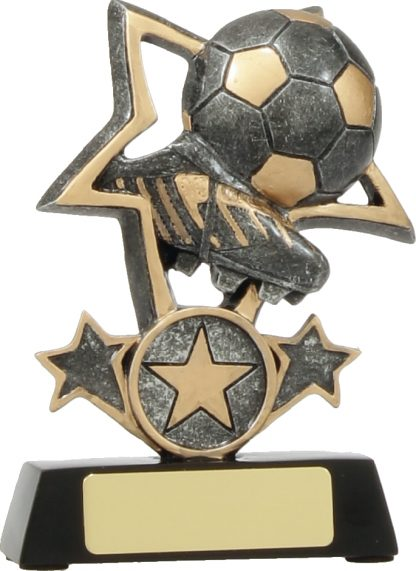 12438S Soccer trophy 115mm