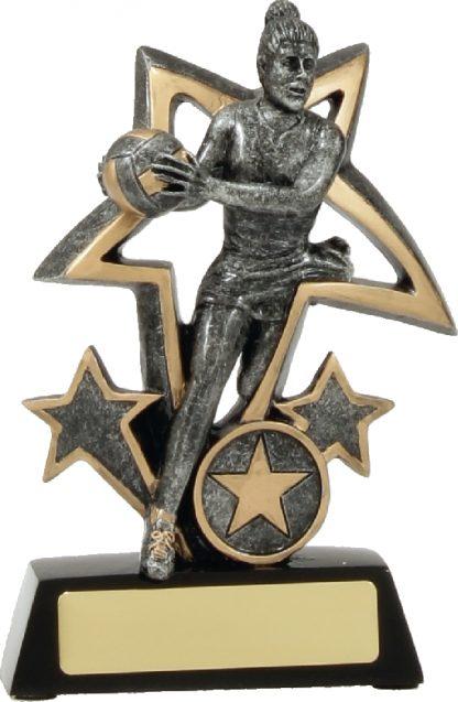 12491S Netball trophy 150mm