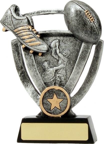 12731L Australian Rules (AFL) trophy 127mm