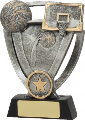 12734L Basketball trophy 140mm