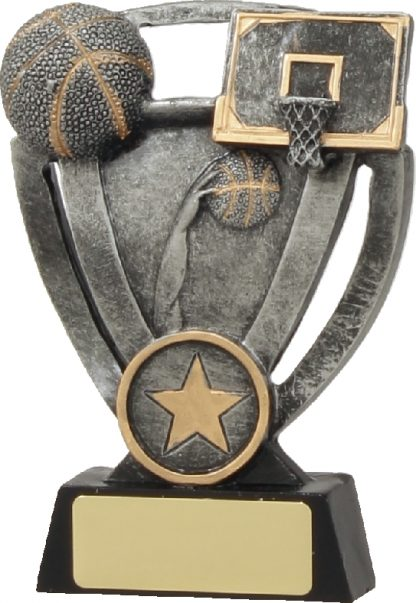 12734M Basketball trophy 120mm