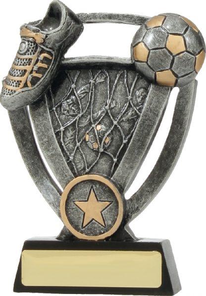 12738L Soccer trophy 150mm