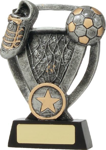 12738M Soccer trophy 130mm