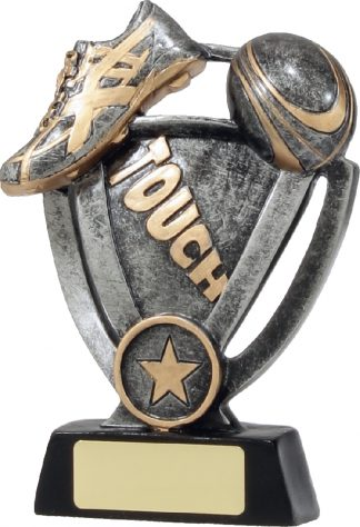 12742L Touch Football trophy 155mm