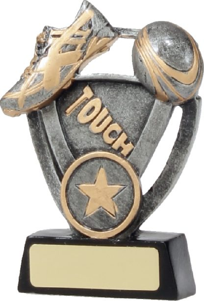 12742S Touch Football trophy 127mm
