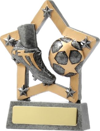 12904 Soccer trophy 130mm