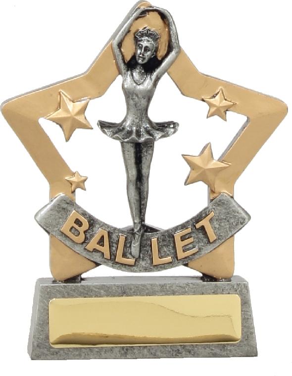 12906 Dance trophy 129mm