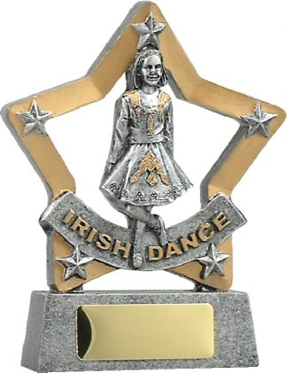 12907 Dance trophy 129mm