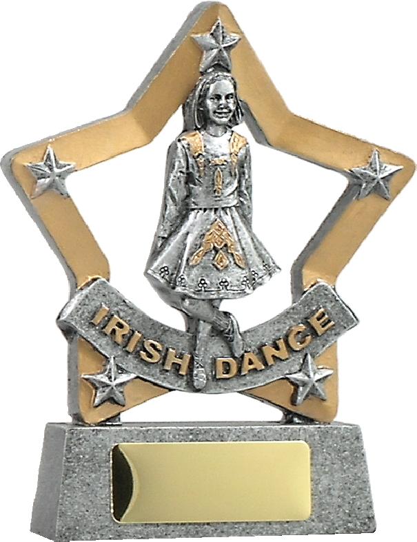 12907 Dance trophy 129mm