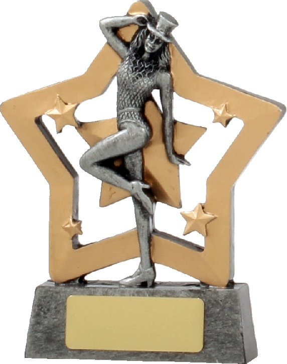 12910 Dance trophy 129mm