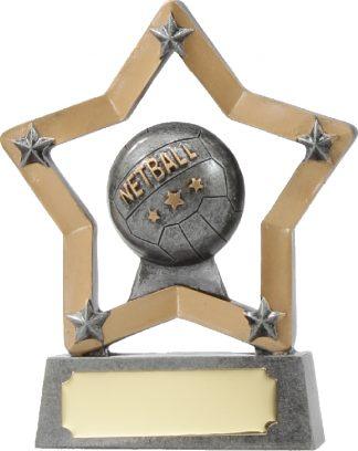 12911 Netball trophy 129mm