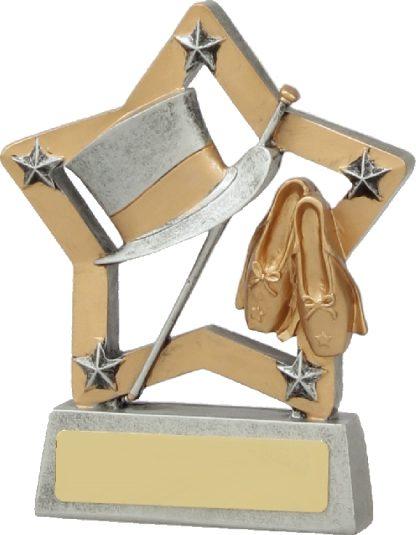 12919 Dance trophy 129mm