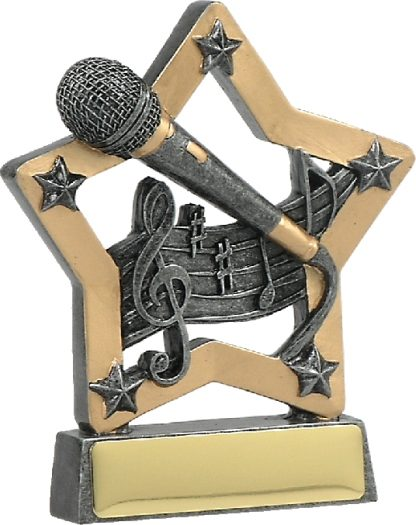 12921 music trophy 129mm