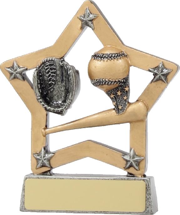 12933 Baseball - Softball trophy 130mm