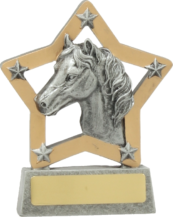 12935 Equestrian trophy 130mm